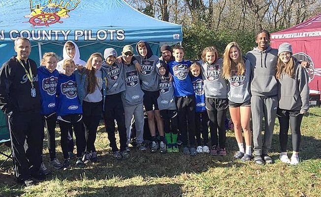 Fulton County's Cross Country team competed at the state level of competition Nov. 2. (Photo submitted)