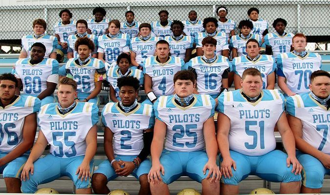 2020 PILOTS FOOTBALLl – The Fulton County Pilots will begin their 2020 season on Friday night, when they travel to face the Union City Golden Tornadoes. The Pilots are coming off of a 6-5 season and have eight returning senior players. (Photo by Charles Choate)