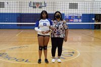 Senior Jada Martin, daughter of Melissa Trice and Greg Martin, was escorted by her mother, Melissa. (Photo by Benita Fuzzell)