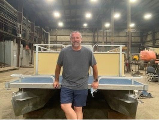 EXECUTIVE DIRECTOR OF SPARE KEY, A NON-PROFIT, TO DOCK IN HICKMAN OCT. 7, PART OF 1700 MILE JOURNEY DOWN MISSISSIPPI ON HOME MADE RAFT