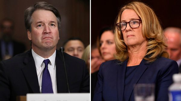 Brett kavanaugh or christine blasey ford main