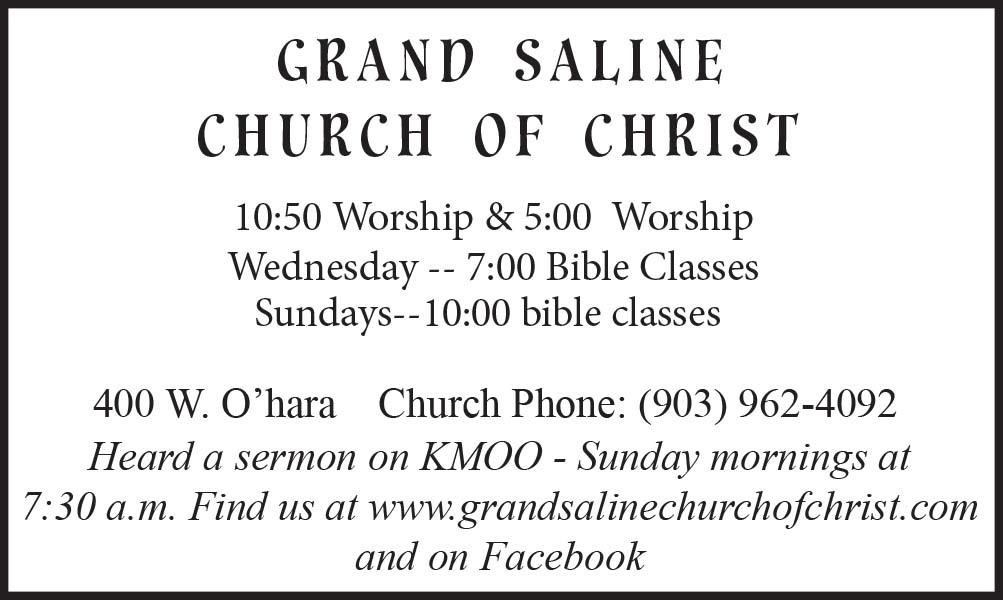 Grand Saline Church of Christ
