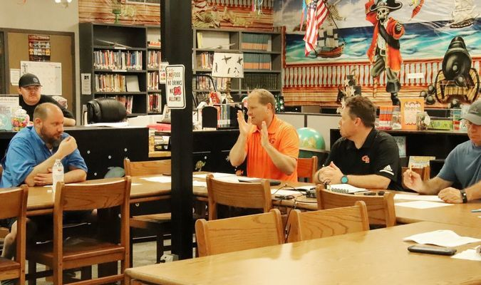 Grand Saline ISD School board discusses options for school closure at Saturday's emergency board meeting.