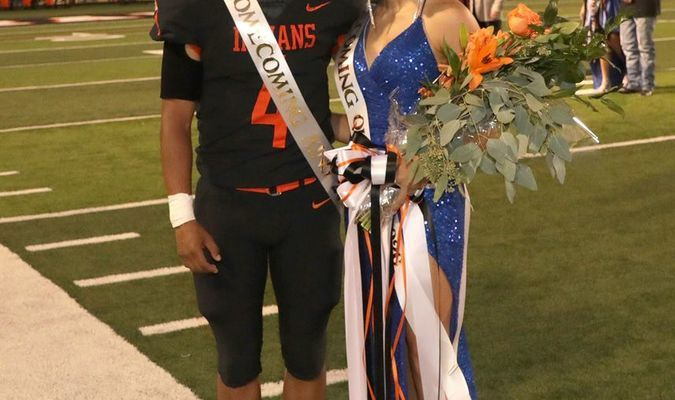 Eric Jimenez - King and Bella Strickland - 2020 Homecoming  Queen