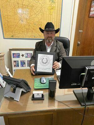 Van Zandt County Precinct 1 Commissioner Chad LaPrade.