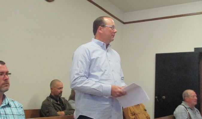 Scott Slaton expresses concern about interfacing the new body camera system with the county's internet system.