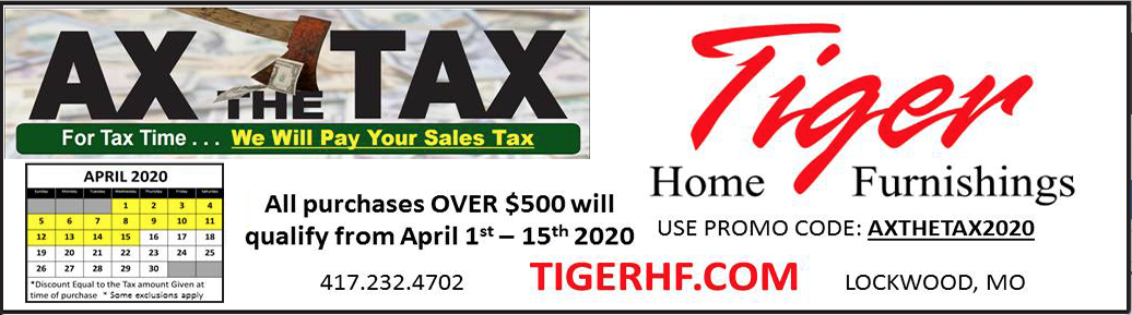 Tiger Home Furnishings March/April