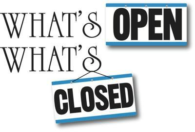 What's OPEN, What's CLOSED