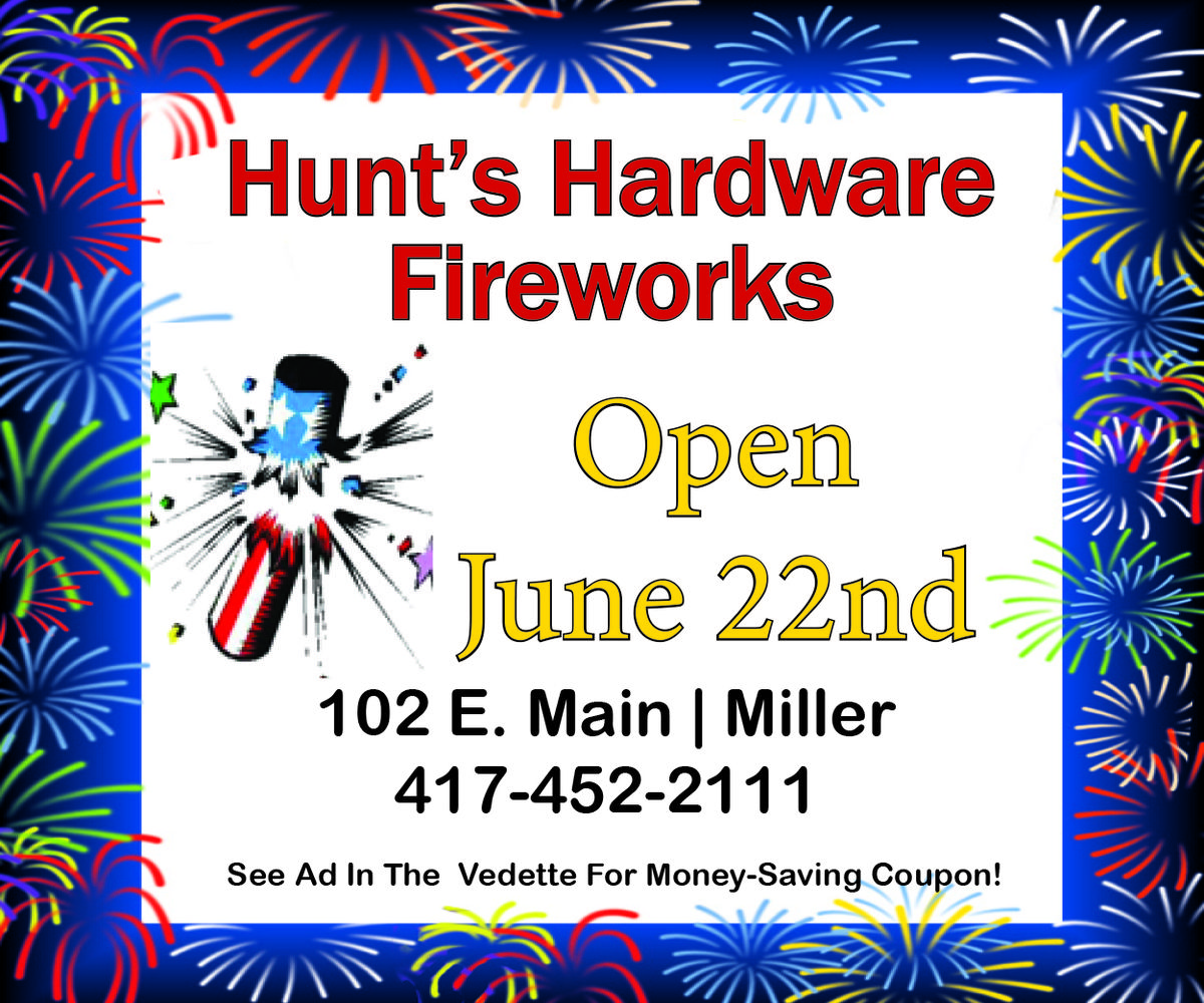 Hunt's Hardware Fireworks