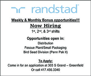 Randstad Help Wanted