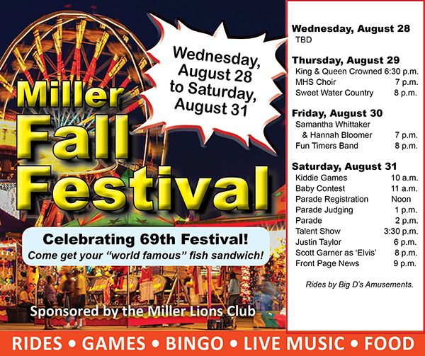 Miller Lions Fall Festival