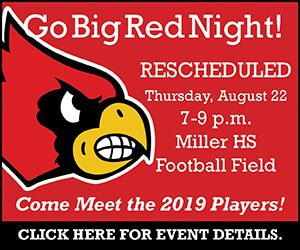 Miller Go Big Red Night RESCHEDULED