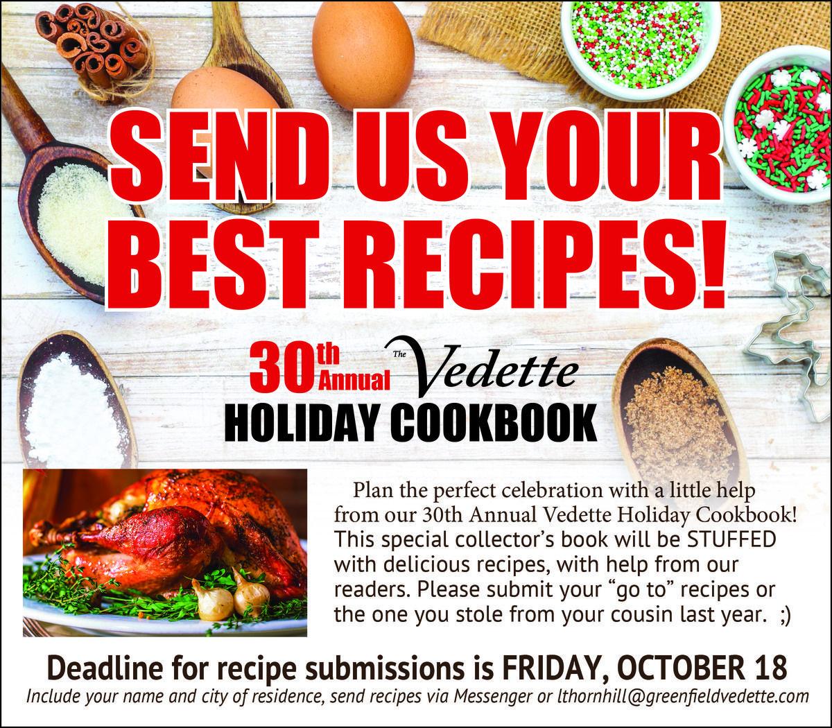 Cookbook Call for Recipes
