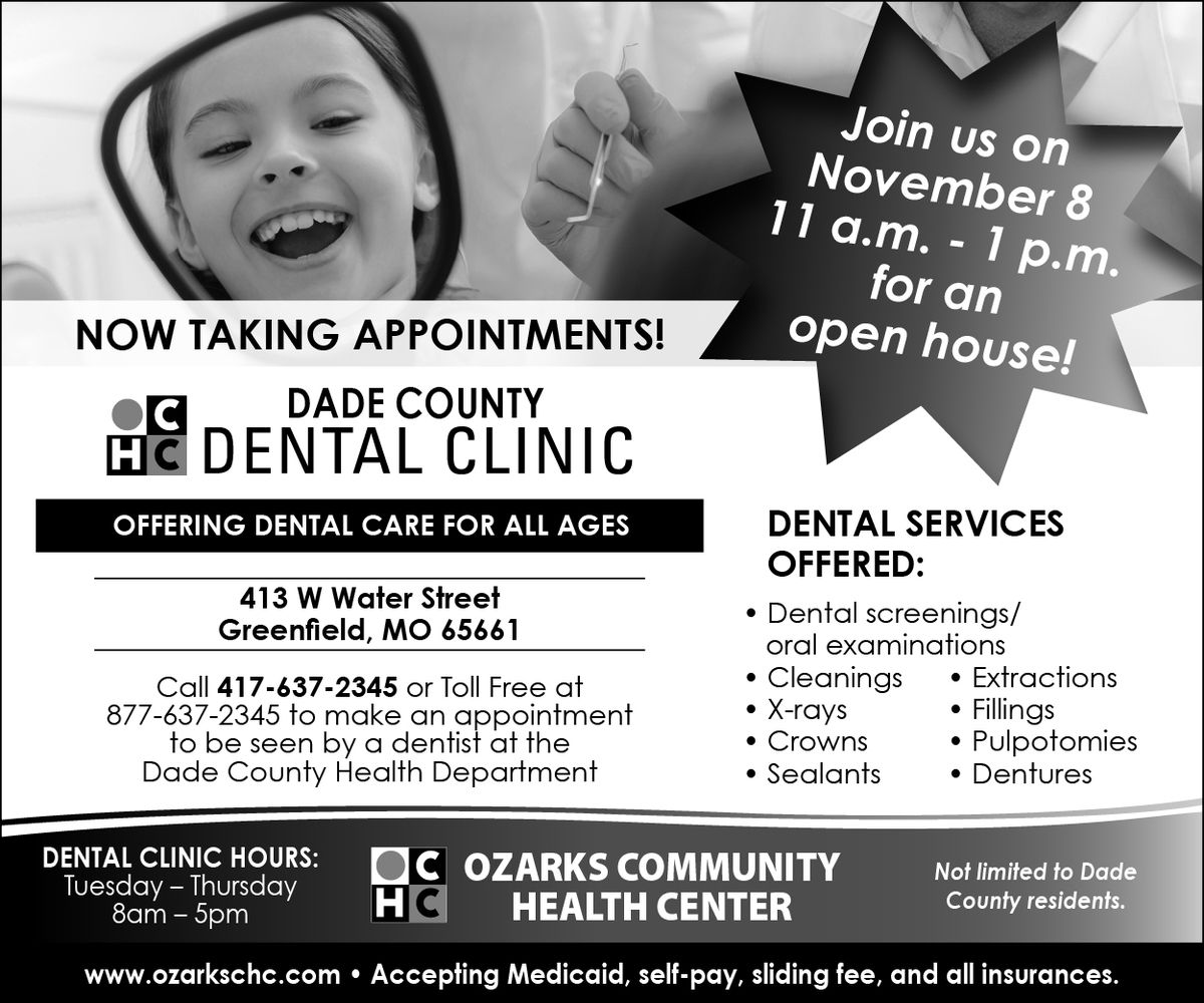 Dade County Dental Clinic Open House