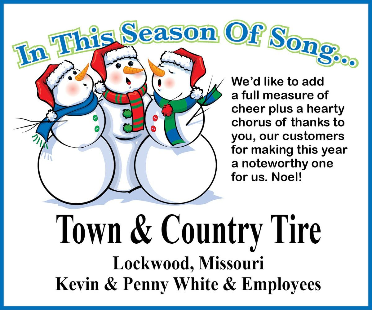 Town & Country Tire Greeting 2019