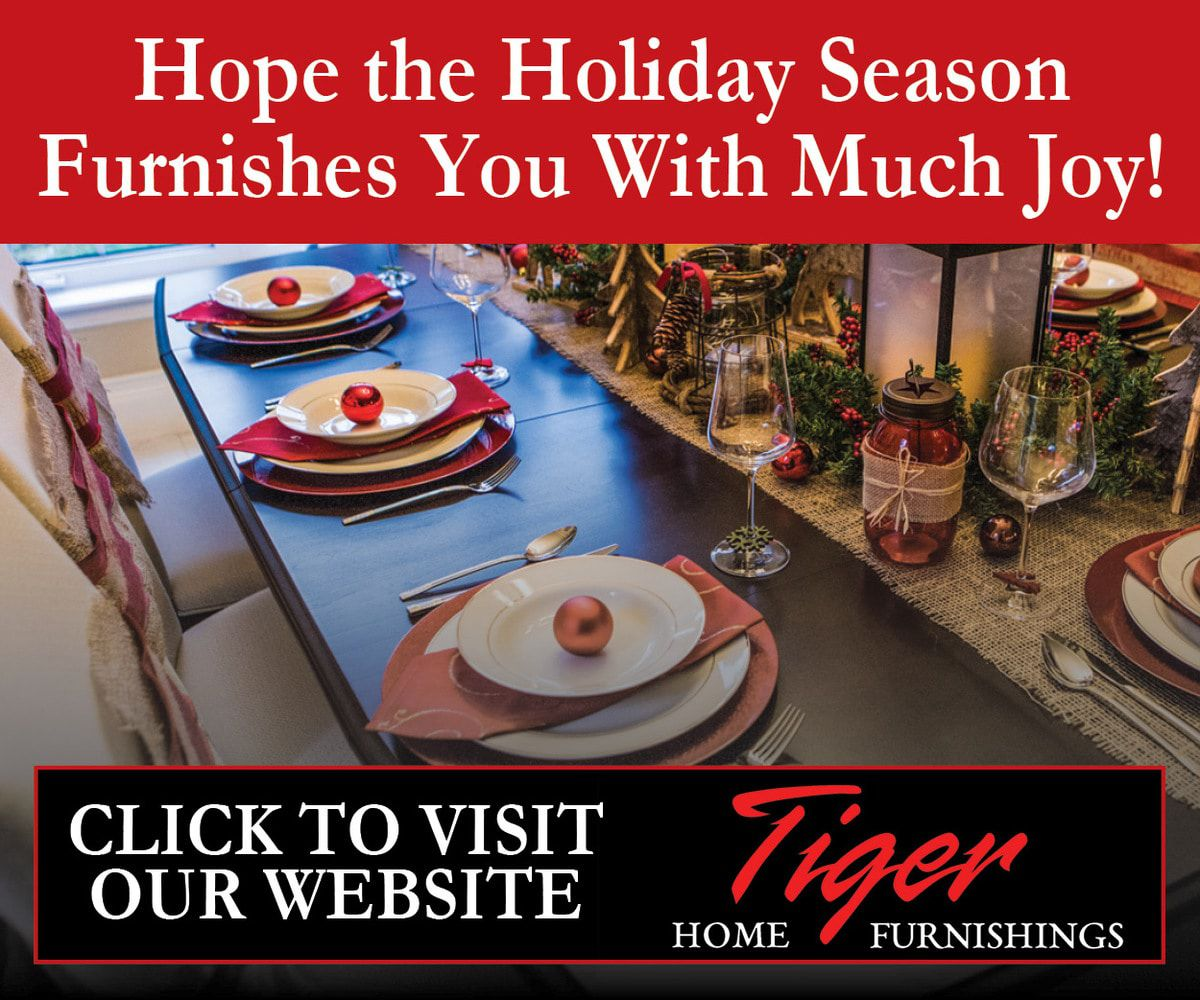 Tiger Home Furnishings Greeting  2019