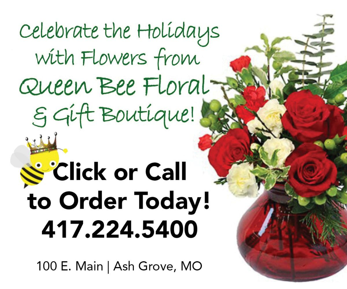 Queen Bee Floral Greeting 2019