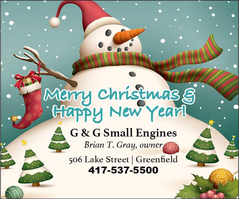 G&G Small Engine Greeting 2019