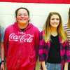 Left to right: Brianna Kamalo, freshman; Casey Bates, sophomore; Makenzie Purinton, junior; and Moriah Coose, senior.