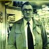 Leo Rader, 1950s, inside Rader's Store.