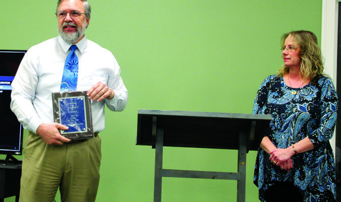 Citizen of the Year:  Dr. Malcolm Oliver