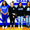 Left to right: Blade Welch, Autumn Phillips, Susana Trujillo, Taylar Morrow, Kiarra Mai, Princess McCoy, Lauren Jones and Harley Stapp.