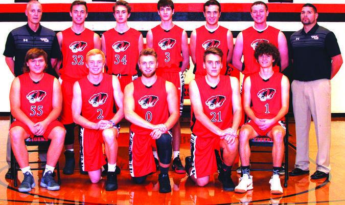 2018 Walnut Grove varisty boys basketball team