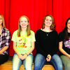 Lauren Allen (Senior), Noble Foster (Junior), Daisy Patton (Sophomore), Lillian Eggerman (Freshman).