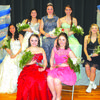 Queen Haieigh Gray and her royal court
