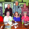 Left to right: Larry and Carol Witt, June 6, 1958; Jack and Lorene Freeze, May 24, 1958; Jerry and June Beach, April 26, 1958; Larry and Vera Beach, May 30, 1958; and Jim and Judith Myers, February 8, 1958.
