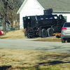 An armored vehicle provided by the Greene County Sheriff's Office was used in a raid on an Everton residence the afternoon of Jan. 4. Cheyenne Conn was taken into custody on several felony warrants after voluntarily surrendering. (Photo courtesy Everton Police Department)