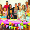 Back, left to right: Daniel White, Zack Daniel, Cathy Harrington, Rick Harrington, Brian and Brooklyn White. Middle: Heather and Hannah White, Lindsey Daniel, Kelsey Daniel, Jaime White. Front: Hadlee White, Hayden White, Brody Daniel and Peggy Jones.