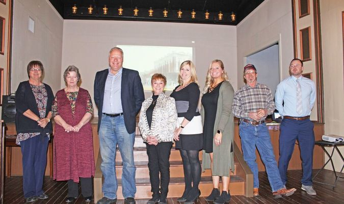 the members of the 2019 Chamber board