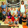 Round Grove Baptist Church welcomed these four year olds to preschool. Front, left to right: Benjamin Boettler, Eliyas Tudor. Middle row: Harper Boyd, Palmer Owens, Ava Hawkins, Brielle Pham, Sophia Wilmoth. Back row: Grandma Doris, Jackariah Stica, Gracie Hill, Easton Reach, Cael Hawks, Lily Cook and Mrs. Bowles. photo by Cletis McConnell, Vedette Reporter.
