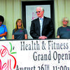 Donald Babb, Citizens Memorial Hospital, Bolivar, spoke at the grand opening of the Livewell Health and Fitness Center, Greenfield on Friday morning.