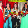 2015 Queen Keanarde Cargill poses with this year's winners, Miss Mary Grace Harris, Miss Breanna Hollis and Miss Elizabeth Delmont.
