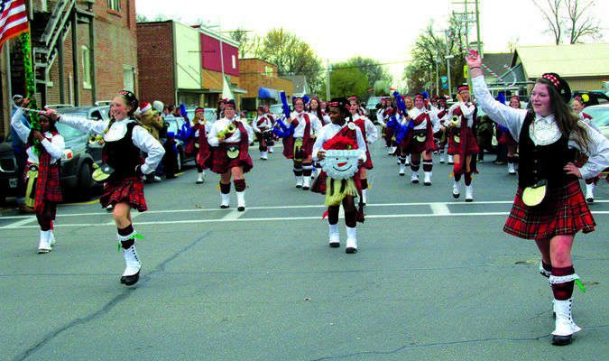 Springfield Central High School Kilties Drum Corp