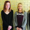 Lockwood homecoming queen hopefuls: Arianna Wood, Maddie Muncy, Kaylee Kennedy and Olivia Nentrup.
