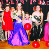 Queen Jordan and her royal court