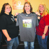 Pictured from left to right Laci Stump, Destiney Patterson, Becky Patterson, Linda Gray and Brenda Richter.