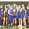Lady Wildcats placed first at the Golden City Basketball Tournament.