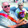 Grand Marshals, Mr. and Mrs. Don Adams