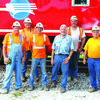 The men who brought the caboose down from Kansas City.