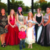 Queen Lexi and her royal court.