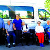 Good Shepherd Community Care & Rehabilitation's residents ready to take a ride in the new van.