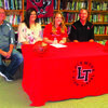 Rylee Neill signs letter of intent.