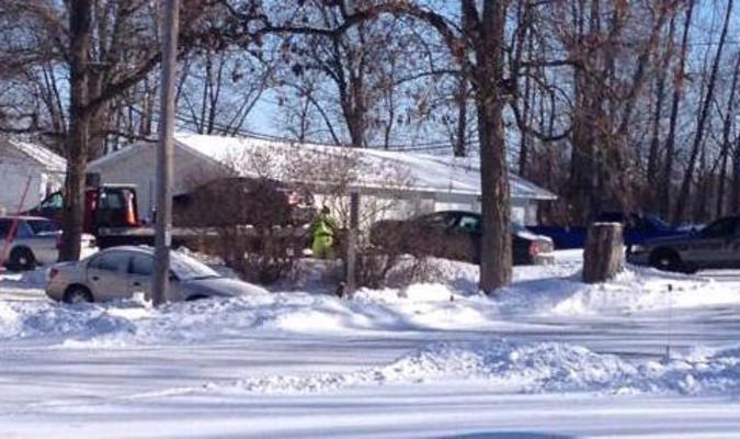 Feb 15, 2015 photo of the crime scene residence. Contributed.