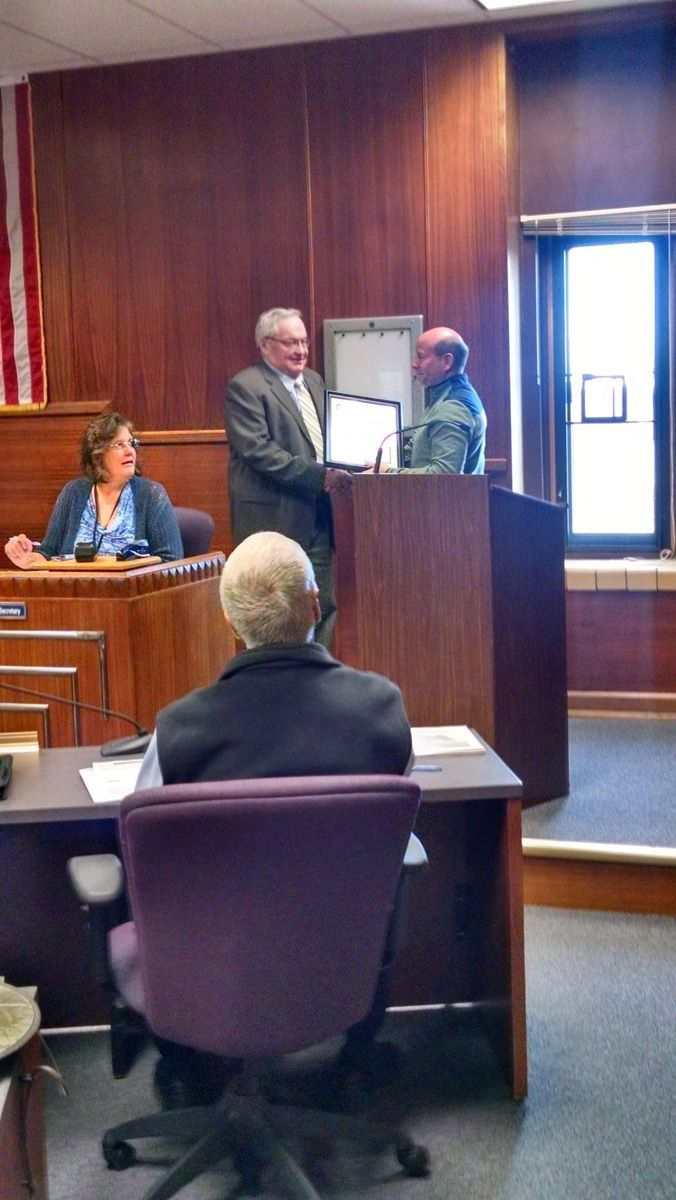 The messenger of juneau county - At Last Week S March 21 Juneau County Board Meeting A Resolution Was Passed To Accept The Bid From Miron Construction To Be The Prime Contractor For The New