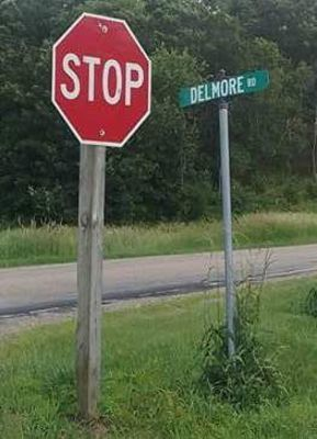 Delmore Rd (rural Lyndon Station) is where the home Barbara Blackstone had with her husband, Tom. It is also where she was last known to be prior to her remains being located almost a month later in Lafayette County, WI.
