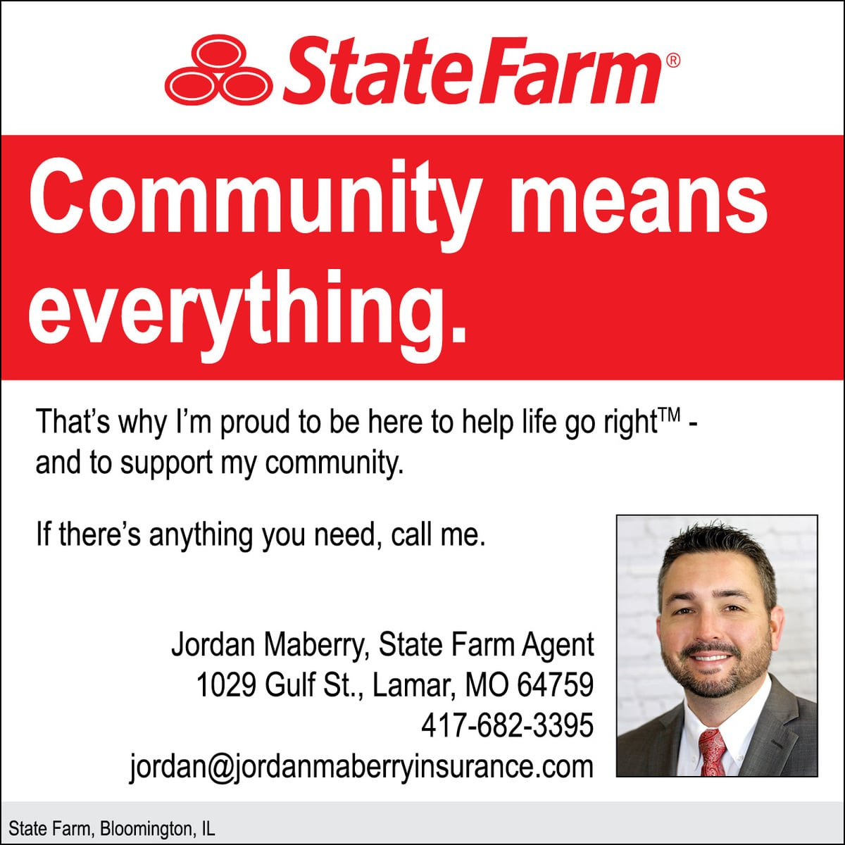 State Farm Insurance-Jordan Maberry